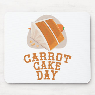 Carrot Cake Day - Appreciation Day Mouse Pad