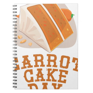Carrot Cake Day - Appreciation Day Notebooks