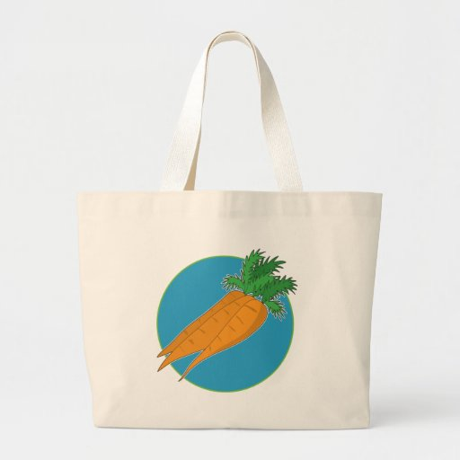 Carrot Graphic Canvas Bag