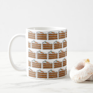 Carrot Layer Cake Cream Cheese Frosting Dessert Coffee Mug