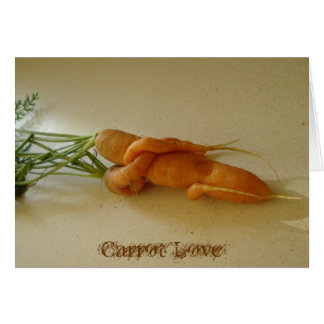 Carrot Love Card