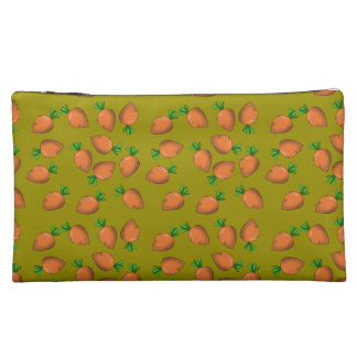 carrot makeup bag