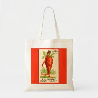 carrot man Victorian trade card