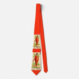 carrot man Victorian trade card Tie