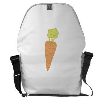 Carrot Messenger Bags