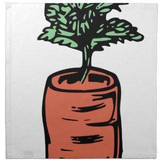 Carrot Napkin