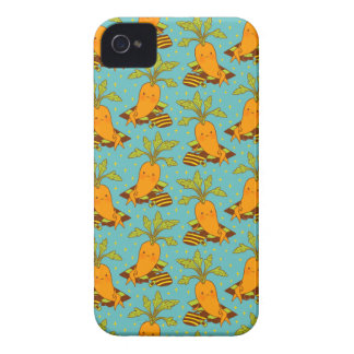 Carrot on Vacation-03 iPhone 4 Covers