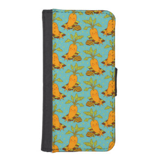 Carrot on Vacation-03 iPhone SE/5/5s Wallet Case