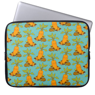 Carrot on Vacation-03 Laptop Sleeve
