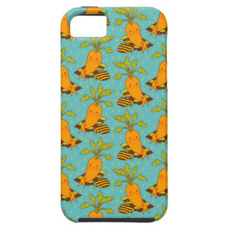 Carrot on Vacation-03 Tough iPhone 5 Case