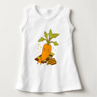 Carrot on Vacation Dress