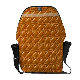 Carrot Orange Courier Bags