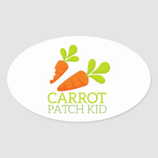 Carrot Patch Kid Sticker