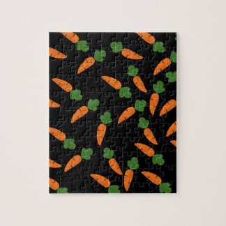Carrot pattern jigsaw puzzle