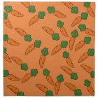 Carrot pattern napkin