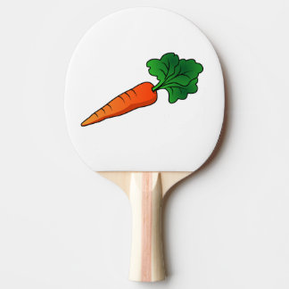 carrot ping pong paddle