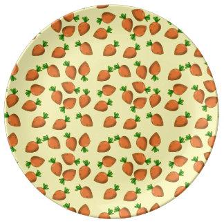 carrot porcelain plates