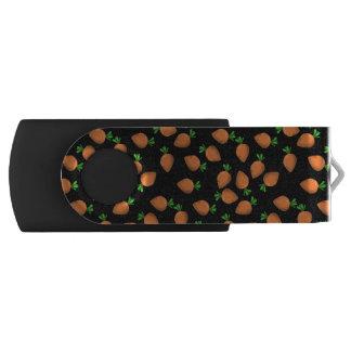 carrot swivel USB 2.0 flash drive