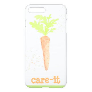 Carrot watercolour iPhone 7 case