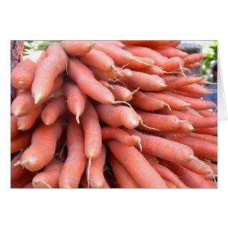 Carrots Blank Card