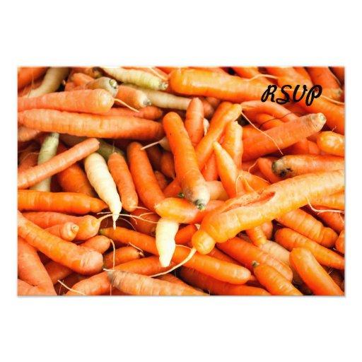 Carrots Invite