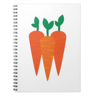 Carrots Notebooks