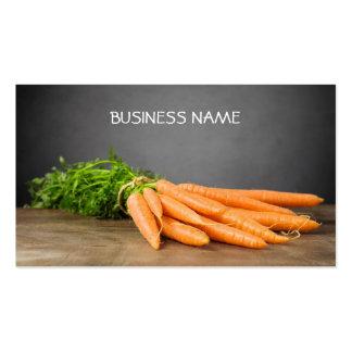 Carrots/ Organic Farm Business Card Template