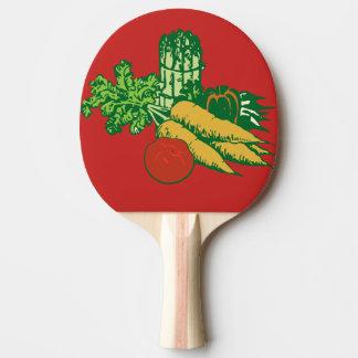 carrots ping pong paddle