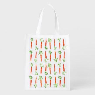 Carrots Reusable Bag Market Tote