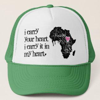 Carry Africa's Heart Trucker Hat