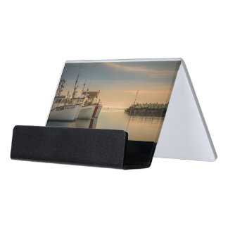 Carry chart photo fishing vessels desk business card holder