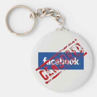 Carry-key facebook key ring