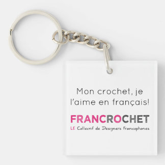 Carry-key hook in French Key Ring