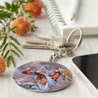 "carry-key ""Jupiter "" Basic Round Button Key Ring"