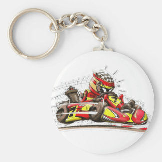 Carry key karting key ring