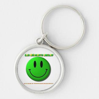 Carry-key Lake-Mégantic Smiley Key Chains