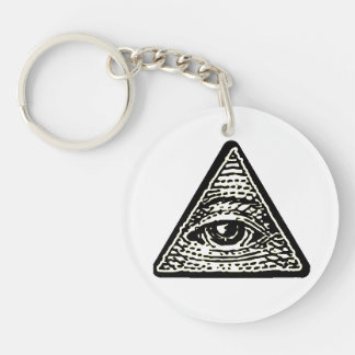 Carry-key Oeil round which sees all Key Ring