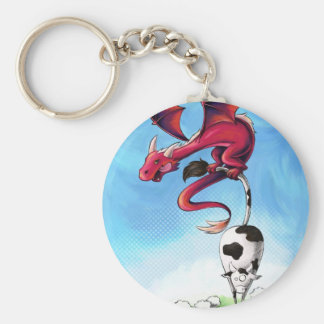 Carry-key Scorfel robber of cow Key Ring