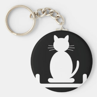 "Carry key ""the Litter of the Cat "" Key Ring"