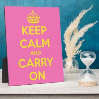 Carry On Bubblegum and Sunshine Display Plaque