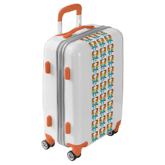 Carry On Luggage Suitcase LOVE BIRDS