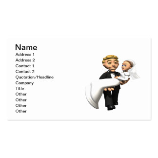 Carry The Bride Pack Of Standard Business Cards