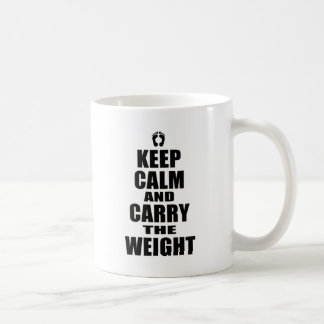 Carry The Weight Basic White Mug