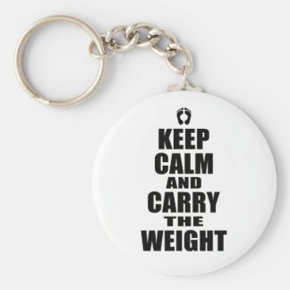 Carry The Weight Keychains