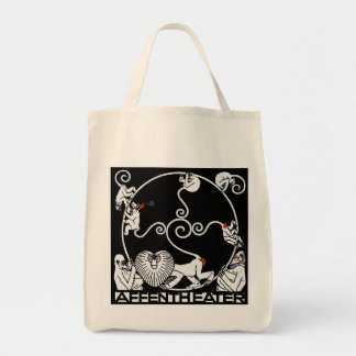 Carryall Bag: Jugendstil - Affentheater
