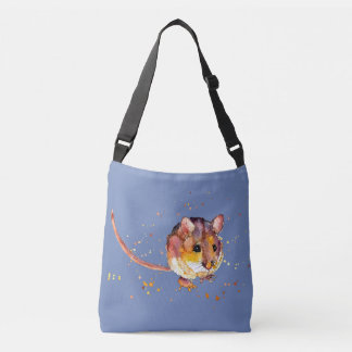 Carrying bag with handpainted mouse