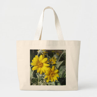 Carrying Tote with Yellow flowers
