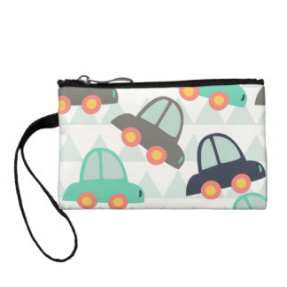 Cars and More Cars Coin Wallets