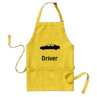 Cars and their servants standard apron