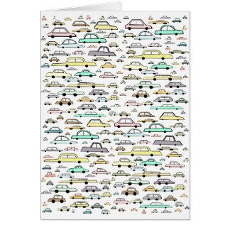 Cars Card